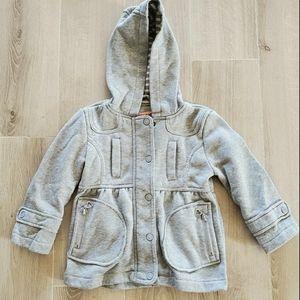 2/$20 Girls 3T Grey Light Jacket